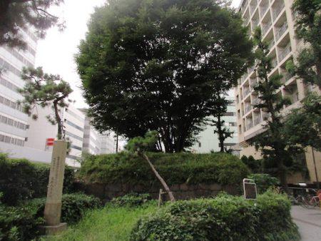 高輪の大木戸跡