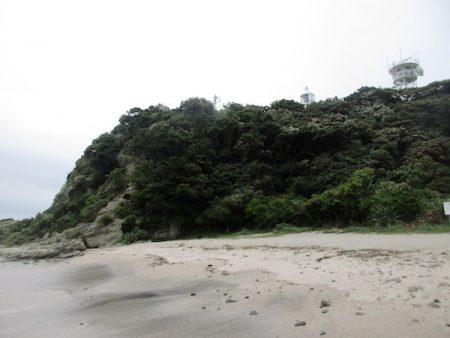 剱崎の断崖