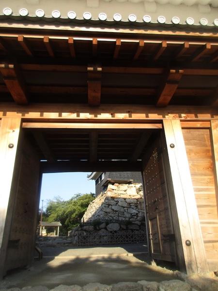 浜松城の城門