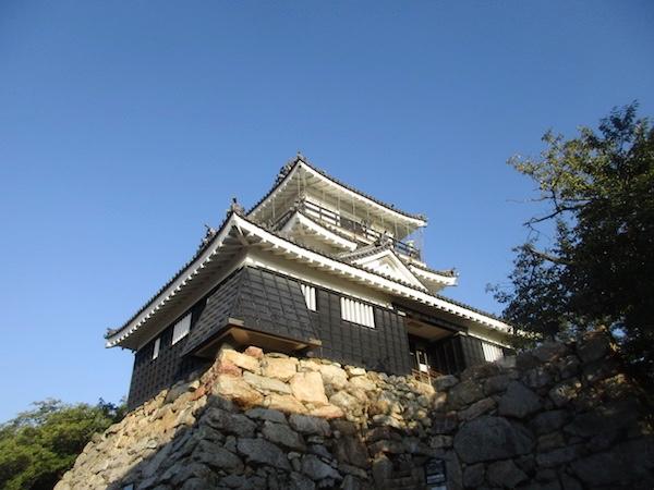 浜松城の天守閣