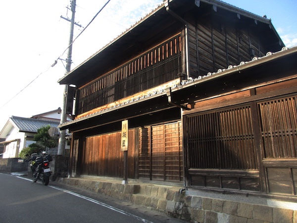 東海道の日坂宿