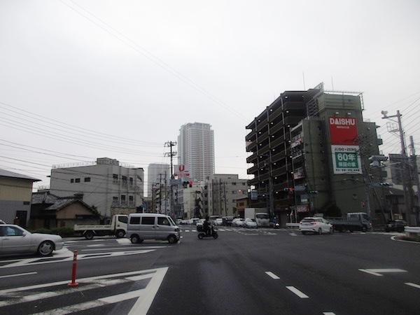 千葉県に入る