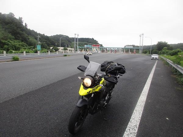 木更津南ICで高速を降りる