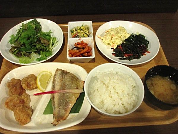 宮古の「ルートイン」の夕食