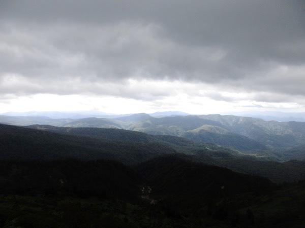 大深沢展望台からの眺め