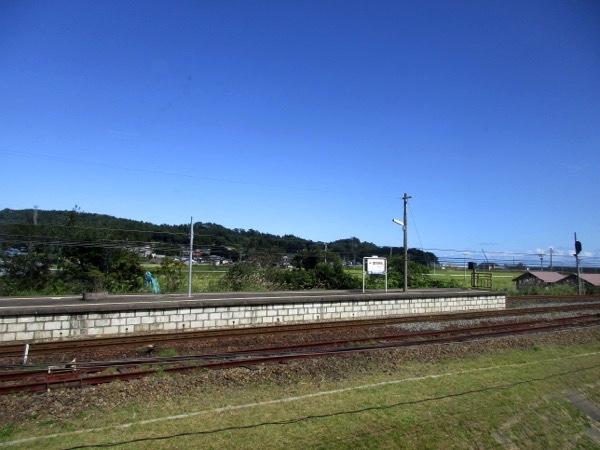 三陸鉄道の陸中野田駅