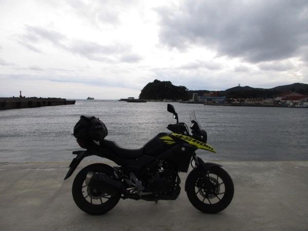 脇野沢港を出発!