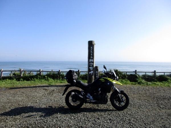 日本本土最東端の納沙布岬に到達!