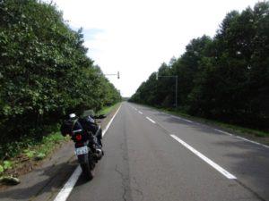 快走路の国道243号