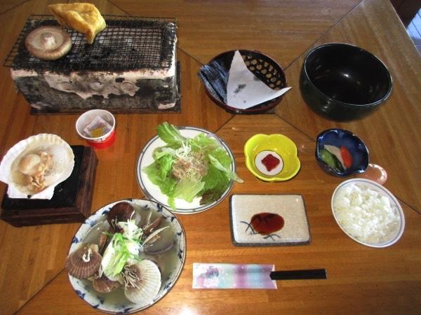 「悠林館」の朝食