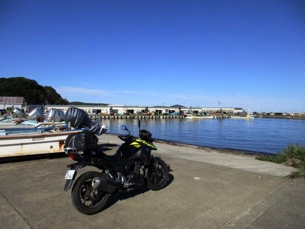 サロマ湖の漁港