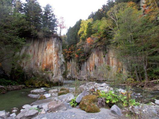 大函の峡谷を眺める