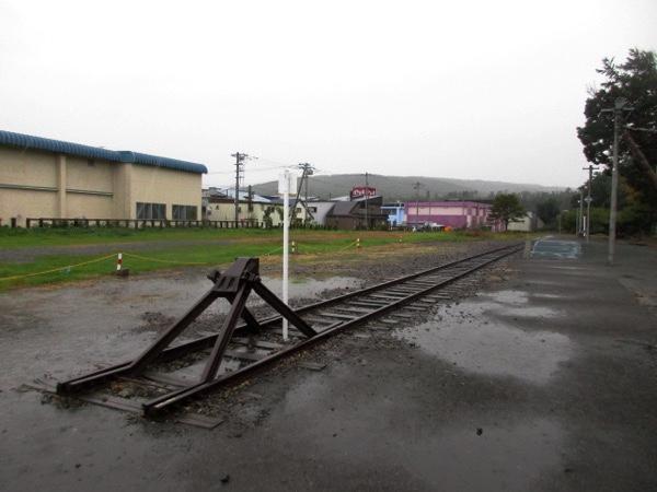 かつての留萌線の終着駅、増毛駅