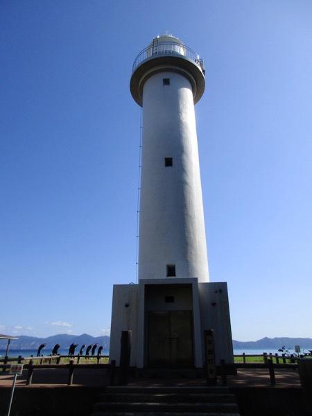 平舘岬の平舘灯台
