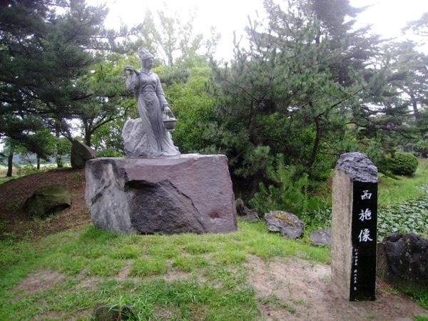 蚶満寺の西施像