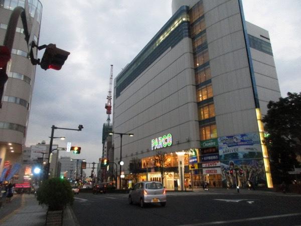 宇都宮に到着。ここからは国道4号で東京へ