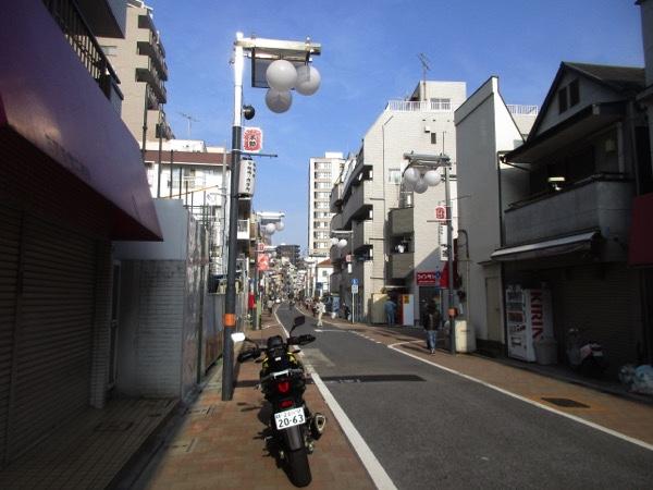 中山道の板橋宿を行く