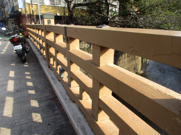 石神井川にかかる板橋。この橋名が板橋宿の由来