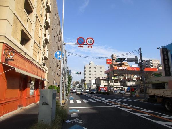 中山道の浦和宿を行く
