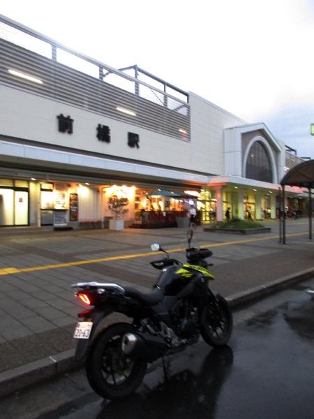 JR前橋駅前に到着