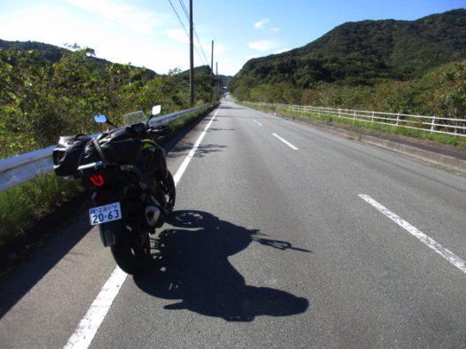 浜島からは国道260号を行く