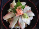 道の駅「紀伊長島」で「ひらまさ丼」を食べる