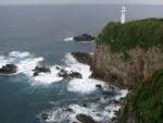 足摺岬の灯台を見る