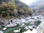 吉野川上流の渓谷