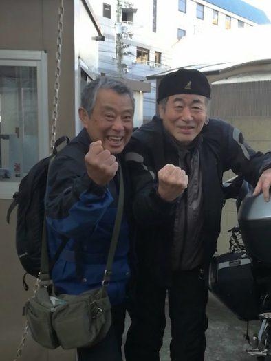 松山の「東横イン」ではBMW R1200RSに乗る中島安晴さん出会った。ビックリ。中島さんには「東日本編」の10月2日に津軽半島の蟹田港で会っている