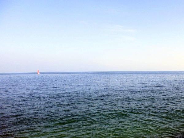 国道196号から見る瀬戸内海