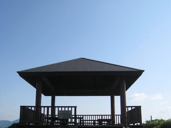 今治の絶景岬、大角鼻の展望台
