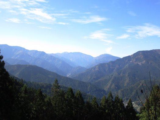川井峠からの眺め
