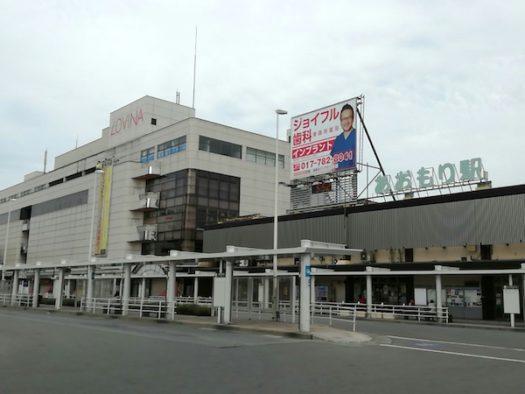 早朝の青森駅