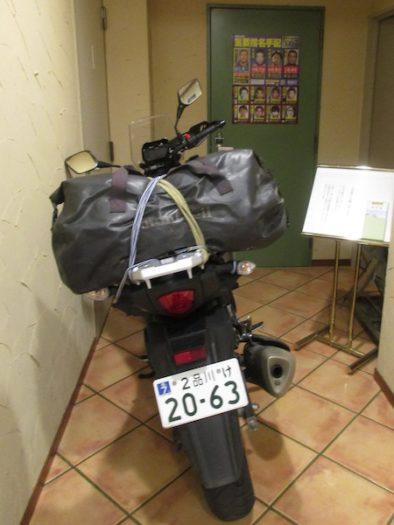 今晩の宿は福知山駅前のビジネスホテル「松代屋」